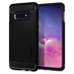 Spigen Rugged Armor kryt Galaxy S10e Black