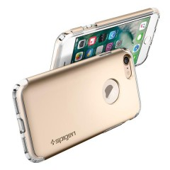 Hybrid Armor kryt iPhone 7 Champagne Gold (8)
