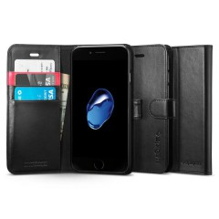 Wallet S pouzdro iPhone 7 Black (1)