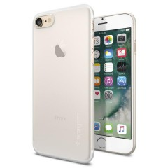 AirSkin kryt iPhone 7 Soft Clear (3)