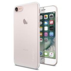AirSkin kryt iPhone 7 Soft Clear (4)