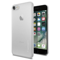 AirSkin kryt iPhone 7 Soft Clear (5)