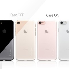AirSkin kryt iPhone 7 Soft Clear (8)