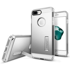 Spigen Tough Armor kryt iPhone 7 Plus Satin Silver