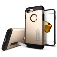 Spigen Tough Armor kryt iPhone 7 Plus Champagne Gold