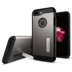 Spigen Tough Armor kryt iPhone 7 Plus Gunmetal