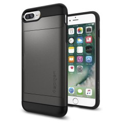 Slim Armor CS kryt iPhone 7 Plus Gunmetal (2)
