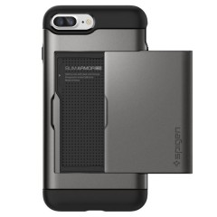 Slim Armor CS kryt iPhone 7 Plus Gunmetal (4)