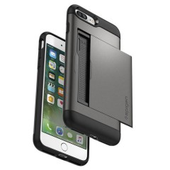 Slim Armor CS kryt iPhone 7 Plus Gunmetal (10)