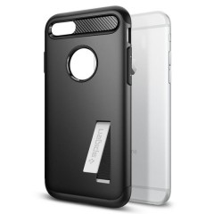 Slim Armor kryt iPhone 7 Black (4)