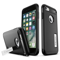 Slim Armor kryt iPhone 7 Black (6)