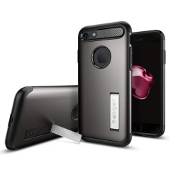 Spigen Slim Armor kryt iPhone 7 Gunmetal