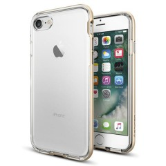 Neo Hybrid Crystal kryt iPhone 7 Champagne Gold (3)