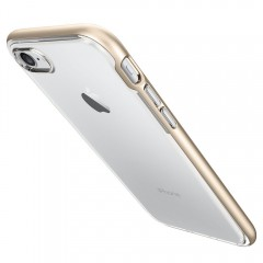 Neo Hybrid Crystal kryt iPhone 7 Champagne Gold (7)