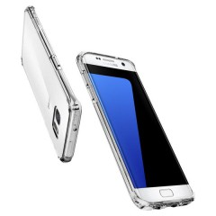 Ultra Hybrid kryt Galaxy S7 Edge Crystal Clear (7)