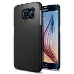 Spigen Thin Fit kryt Galaxy S6 Smooth Black