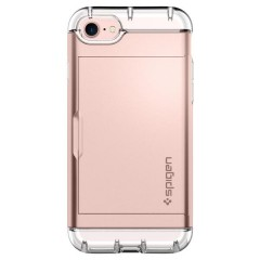 Crystal Wallet kryt iPhone 7 Rose Gold (3)