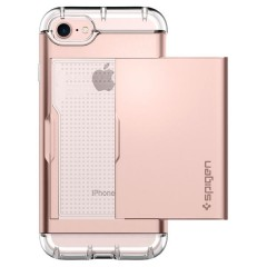 Crystal Wallet kryt iPhone 7 Rose Gold (7)