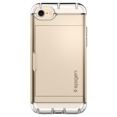 Crystal Wallet kryt iPhone 7 Champagne Gold (3)