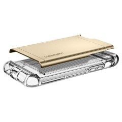 Crystal Wallet kryt iPhone 7 Champagne Gold (5)