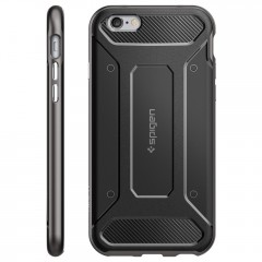 Neo Hybrid Carbon kryt iPhone 6/6S Gunmetal (2)
