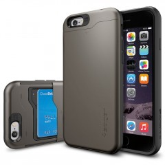 Slim Armor CS kryt iPhone 6/6S Gunmetal (1)
