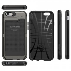 Slim Armor CS kryt iPhone 6/6S Gunmetal (9)
