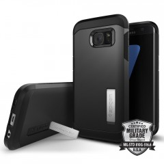 Spigen Tough Armor kryt Galaxy S7 Edge Black