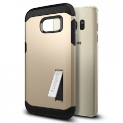 Tough Armor kryt Galaxy S7 Edge Champagne Gold (2)