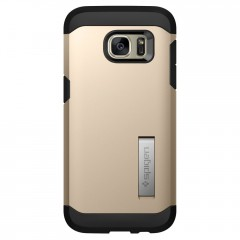 Tough Armor kryt Galaxy S7 Edge Champagne Gold (3)