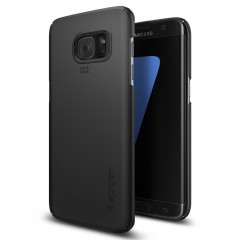 Spigen Thin Fit kryt Galaxy S7 Edge Black
