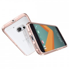 Ultra Hybrid kryt HTC 10 Rose Crystal (7)
