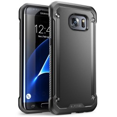 SUPCASE Unicorn Beetle Hybrid kryt Galaxy S7 Edge Black