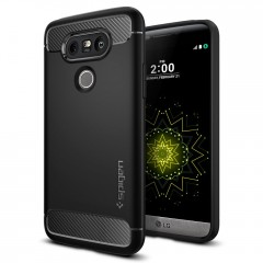Spigen Rugged Armor kryt LG G5 Black