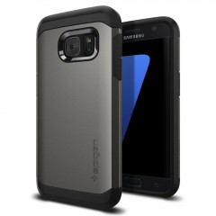 Spigen Tough Armor kryt Galaxy S7 Gunmetal