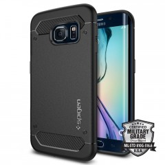 Rugged Armor kryt Galaxy S6 Edge Black (1)