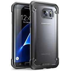 SUPCASE Unicorn Beetle Hybrid kryt Galaxy S7 Edge Clear/Black