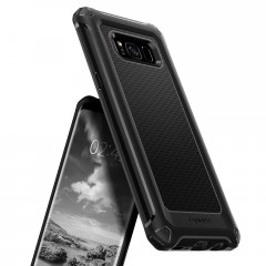 Rugged Armor Extra kryt Galaxy S8+ Black (10)