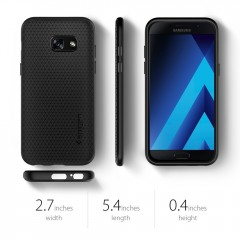 Liquid Air kryt Galaxy A3 (2017) Black (7)