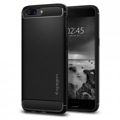 Spigen Rugged Armor kryt OnePlus 5 Black