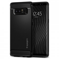 Spigen Rugged Armor kryt Galaxy Note 8 Black