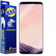 ArmorSuit MilitaryShield [Case Friendly] - Samsung Galaxy S8+