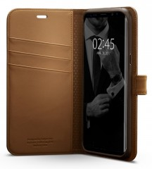 Wallet S kryt Galaxy S8 Brown (3)