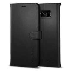 Spigen Wallet S kryt Galaxy S8+ Black