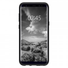 Liquid Air Armor kryt Galaxy S8 Matte Black (2)