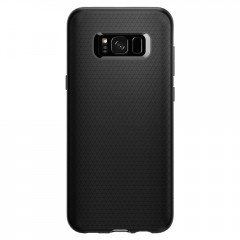 Liquid Air Armor kryt Galaxy S8 Matte Black (3)