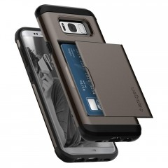 Slim Armor CS kryt Galaxy S8+ Gunmetal (8)
