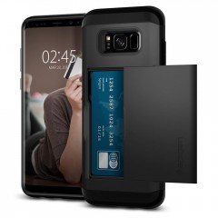Spigen Slim Armor CS kryt Galaxy S8+ Black