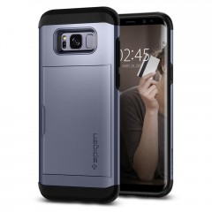 Slim Armor CS kryt Galaxy S8+ Orchid Gray (2)
