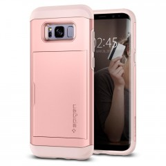 Slim Armor CS kryt Galaxy S8+ Rose Gold (2)